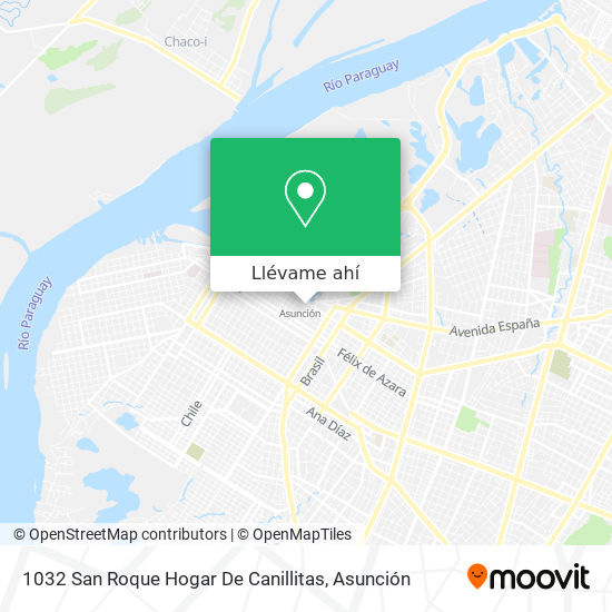 Mapa de 1032 San Roque Hogar De Canillitas
