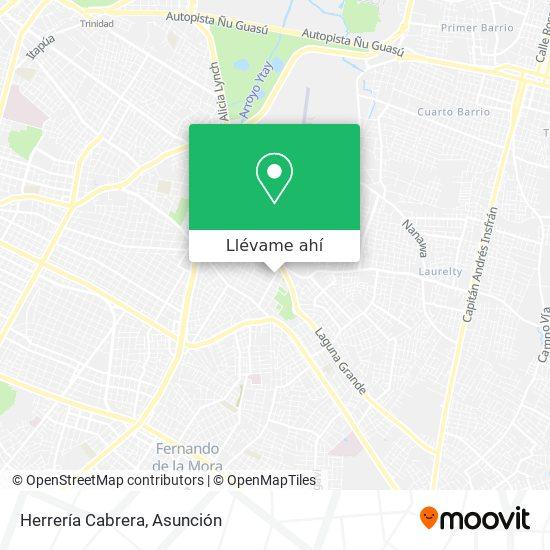 Mapa de Herrería Cabrera