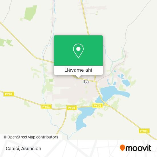 Mapa de Capici