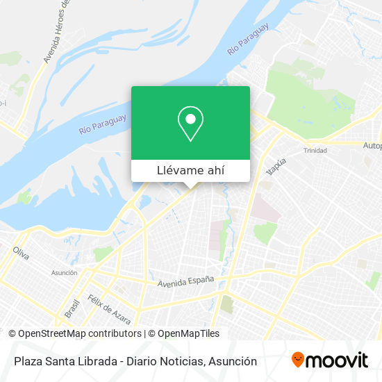 Mapa de Plaza Santa Librada - Diario Noticias
