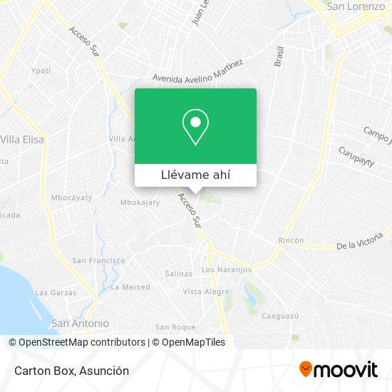 Mapa de Carton Box