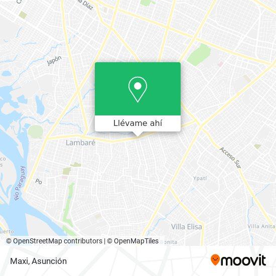 Mapa de Maxi
