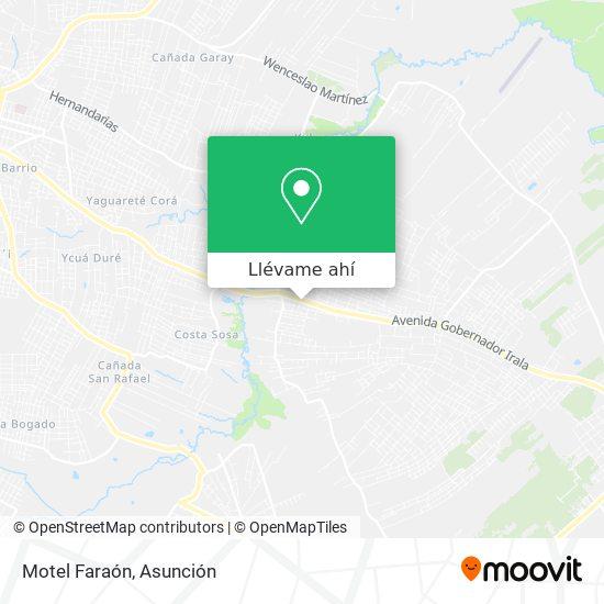 Mapa de Motel Faraón