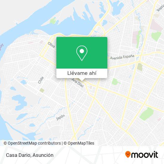 Mapa de Casa Dario