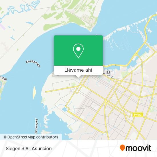Mapa de Siegen S.A.