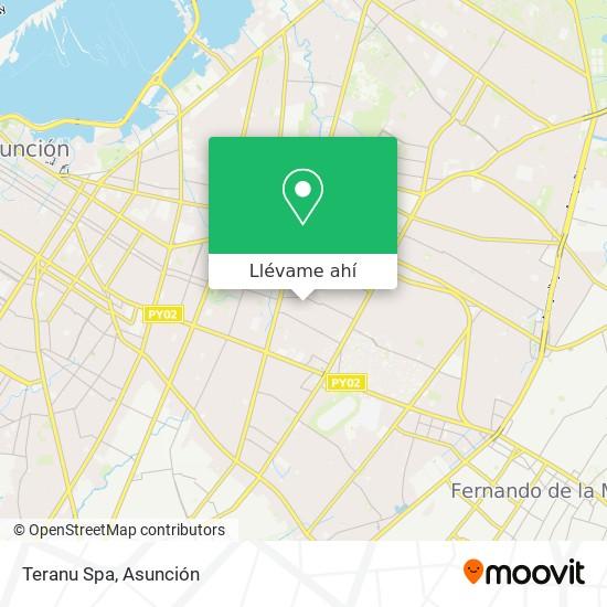Mapa de Teranu Spa