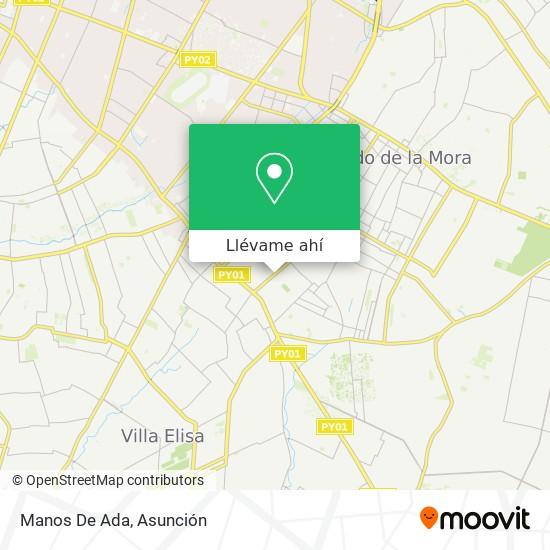 Mapa de Manos De Ada