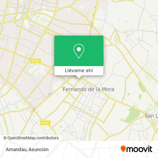 Mapa de Amandau