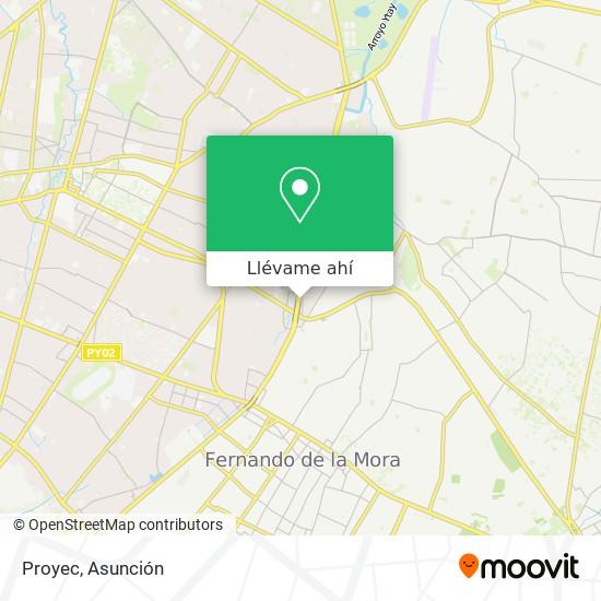 Mapa de Proyec