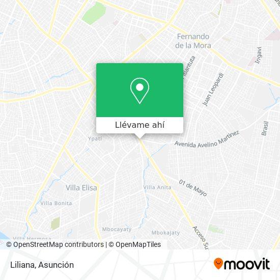 Mapa de Liliana