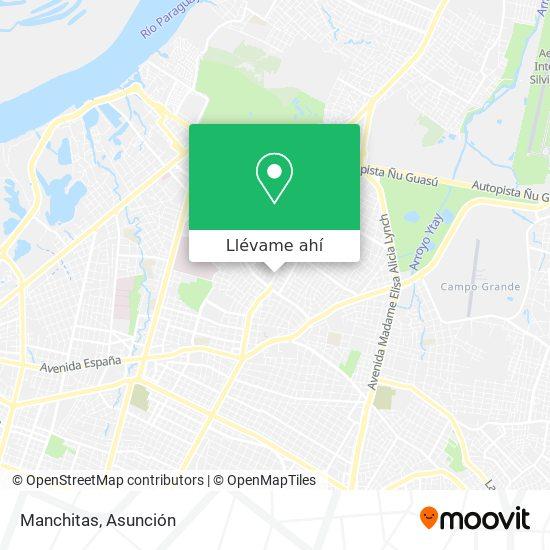 Mapa de Manchitas