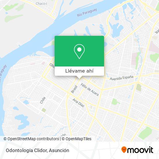 Mapa de Odontología Clidor