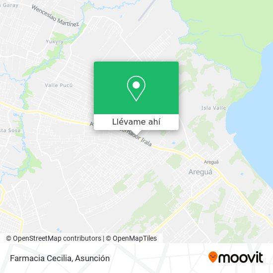 Mapa de Farmacia Cecilia