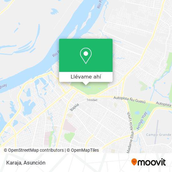 Mapa de Karaja