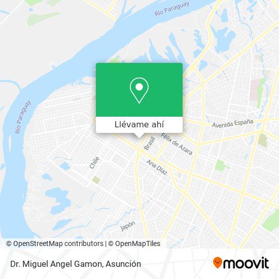 Mapa de Dr. Miguel Angel Gamon