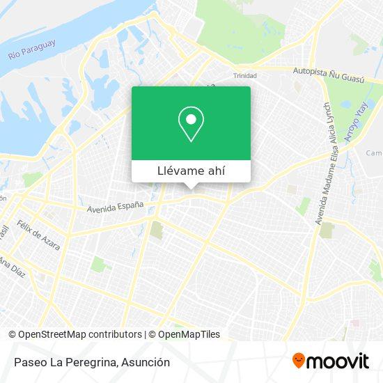 Mapa de Paseo La Peregrina