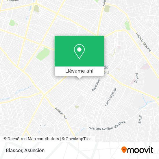 Mapa de Blascor