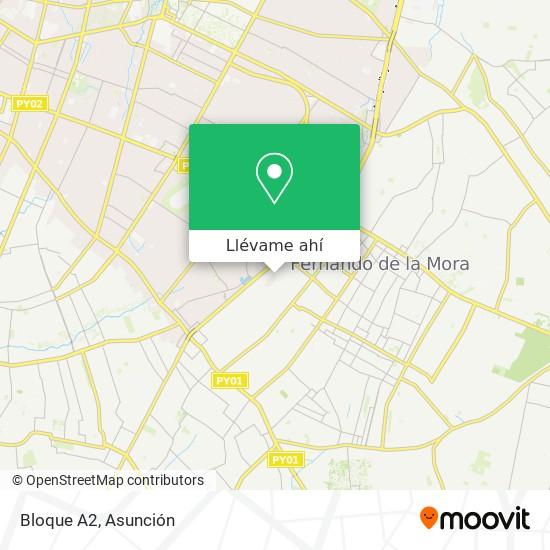 Mapa de Bloque A2