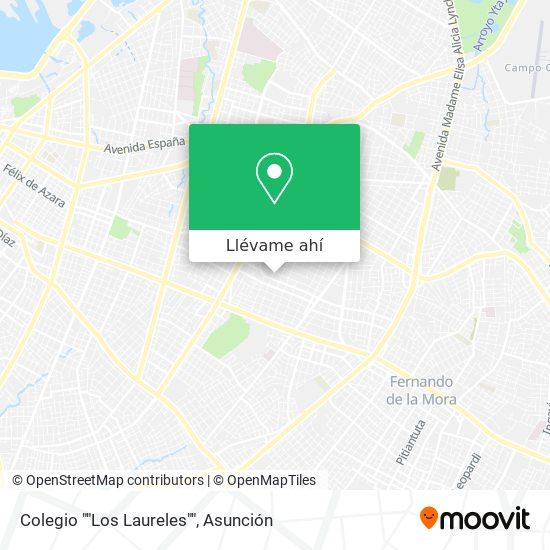 """Mapa de Colegio """"""""Los Laureles"""""""""""