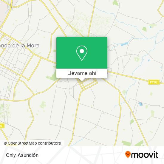 Mapa de Only