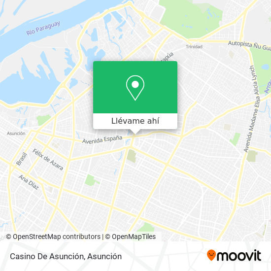 Mapa de Casino De Asunción