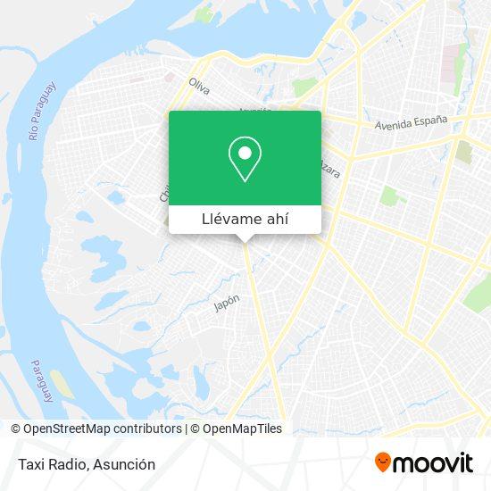 Mapa de Taxi Radio