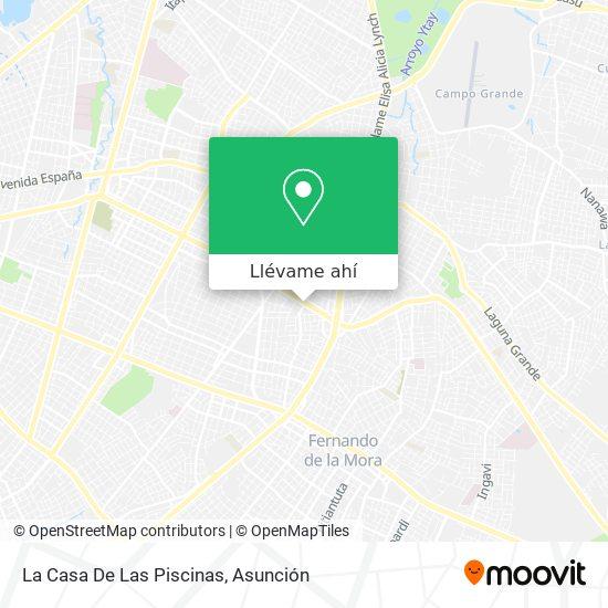 Mapa de La Casa De Las Piscinas