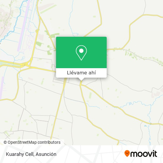Mapa de Kuarahy Cell