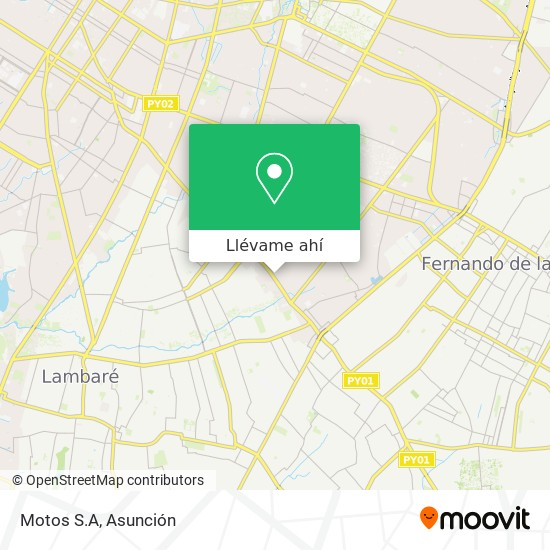 Mapa de Motos S.A