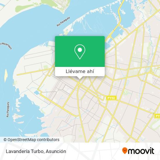Mapa de Lavandería Turbo