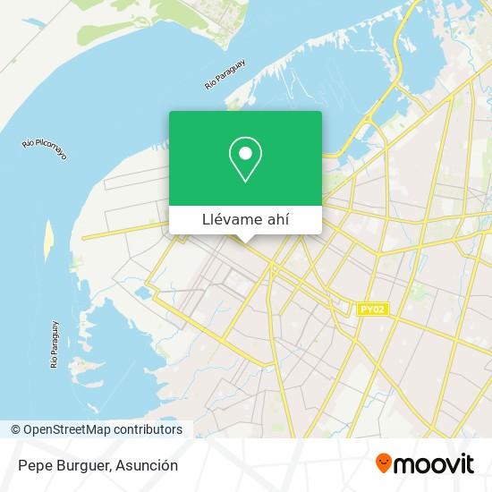 Mapa de Pepe Burguer