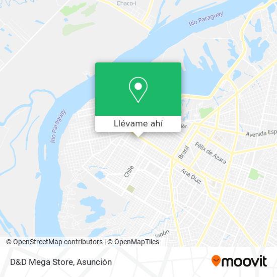 Mapa de D&D Mega Store