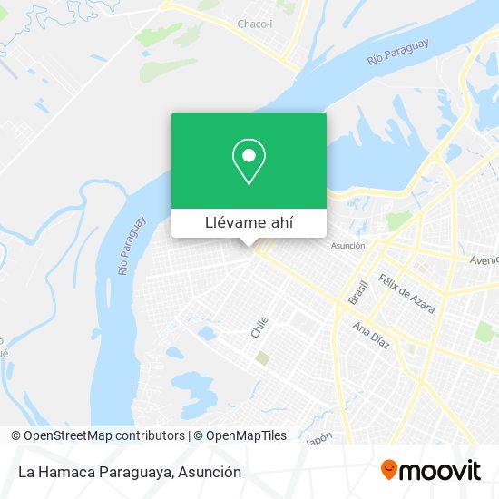 Mapa de La Hamaca Paraguaya