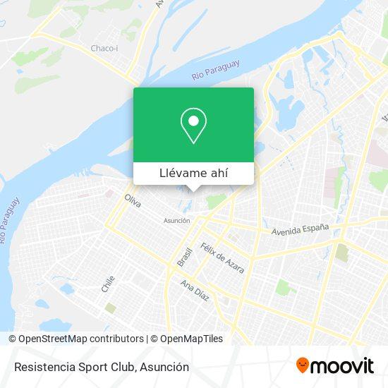 Mapa de Resistencia Sport Club