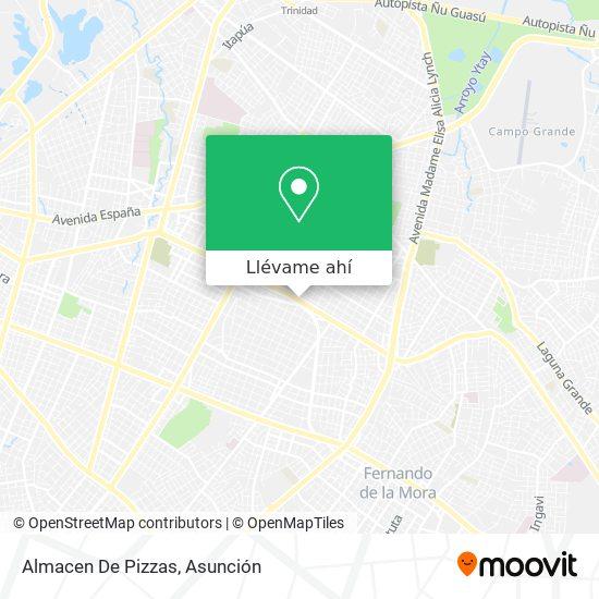 Mapa de Almacen De Pizzas