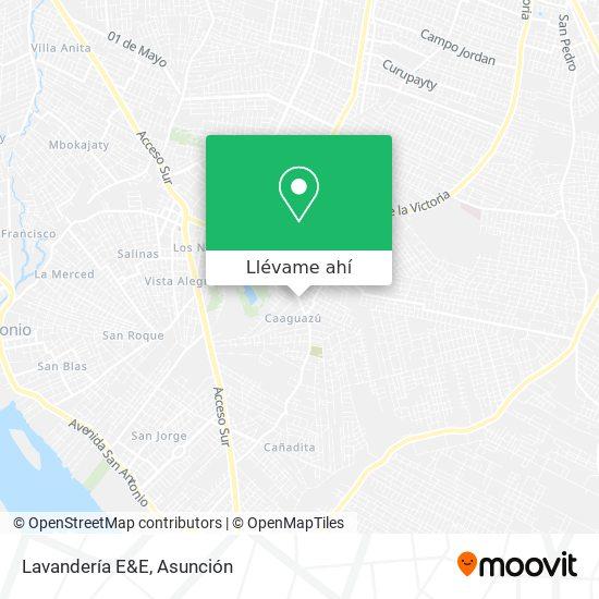 Mapa de Lavandería E&E