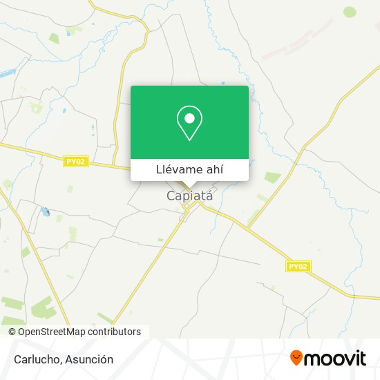 Mapa de Carlucho