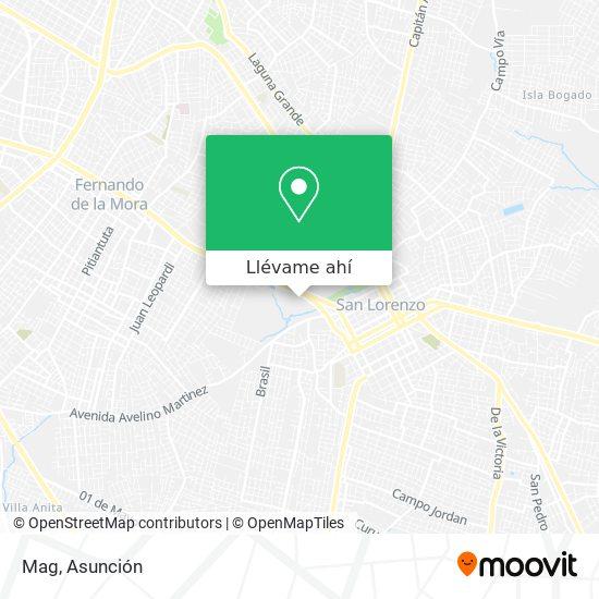 Mapa de Mag