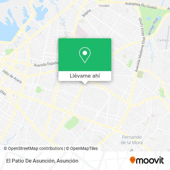 Mapa de El Patio De Asunción