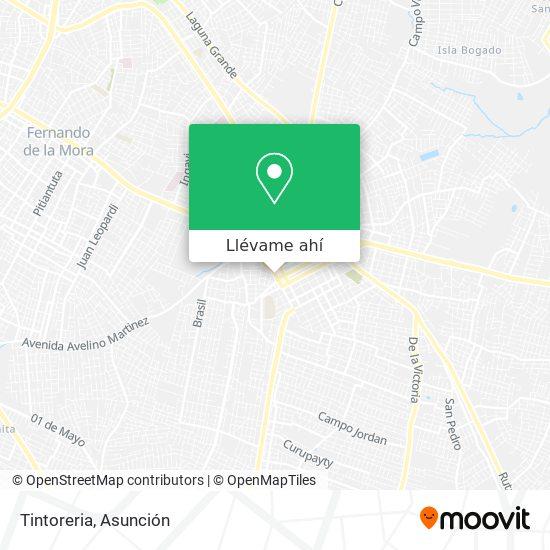 Mapa de Tintoreria