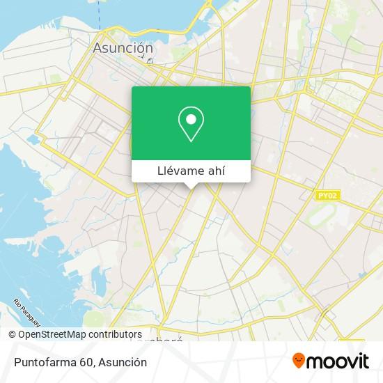 Mapa de Puntofarma 60