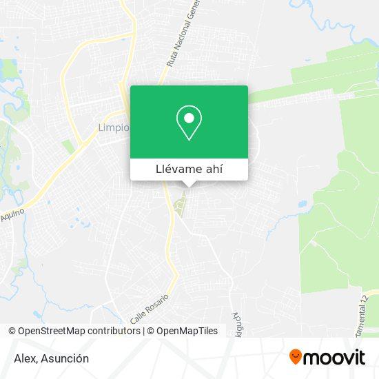 Mapa de Alex