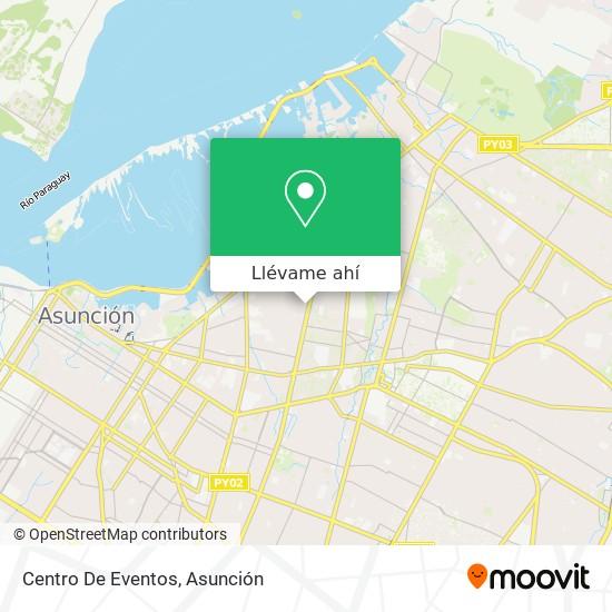 Mapa de Centro De Eventos
