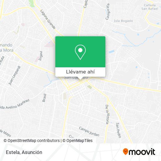 Mapa de Estela