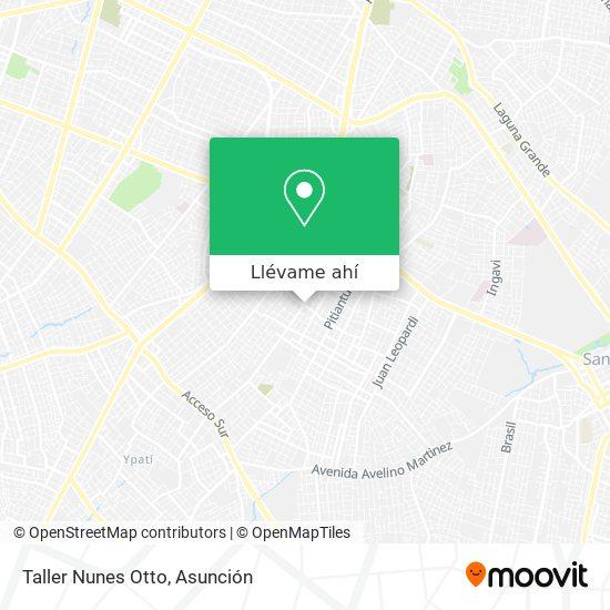 Mapa de Taller Nunes Otto