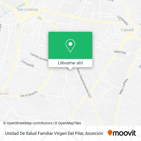 Mapa de Unidad De Salud Familiar Virgen Del Pilar