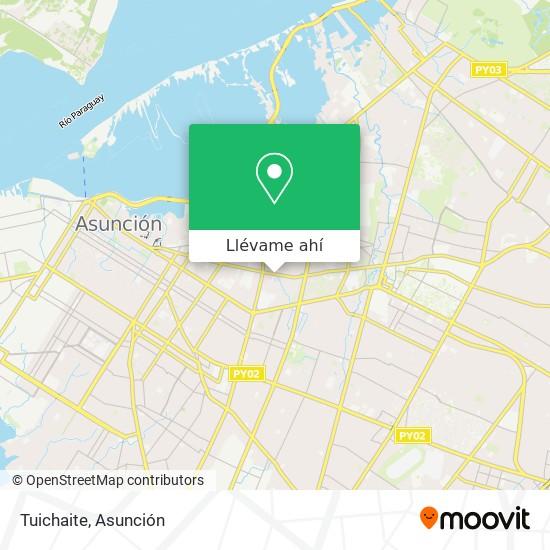 Mapa de Tuichaite