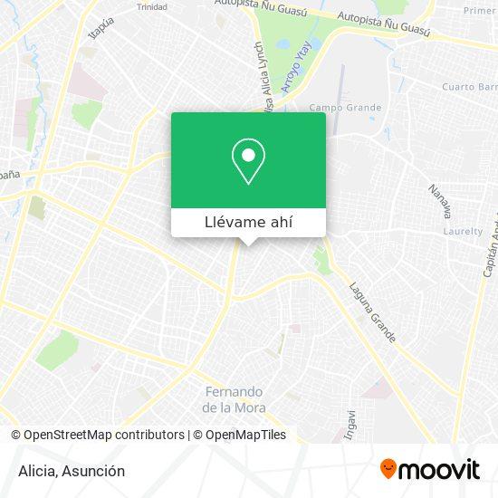 Mapa de Alicia