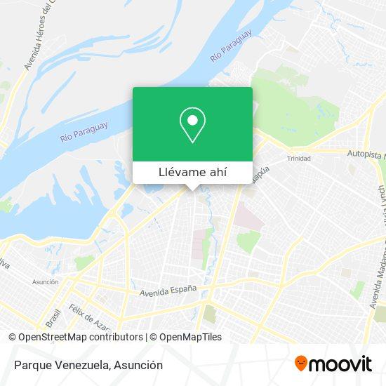 Mapa de Parque Venezuela