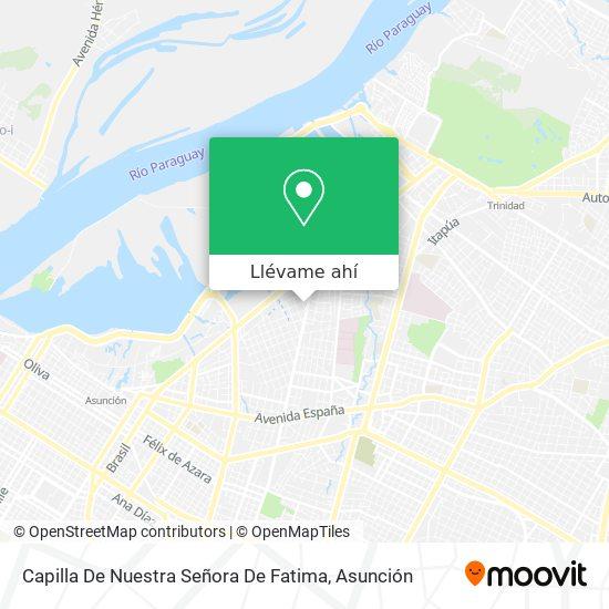 Mapa de Capilla De Nuestra Señora De Fatima
